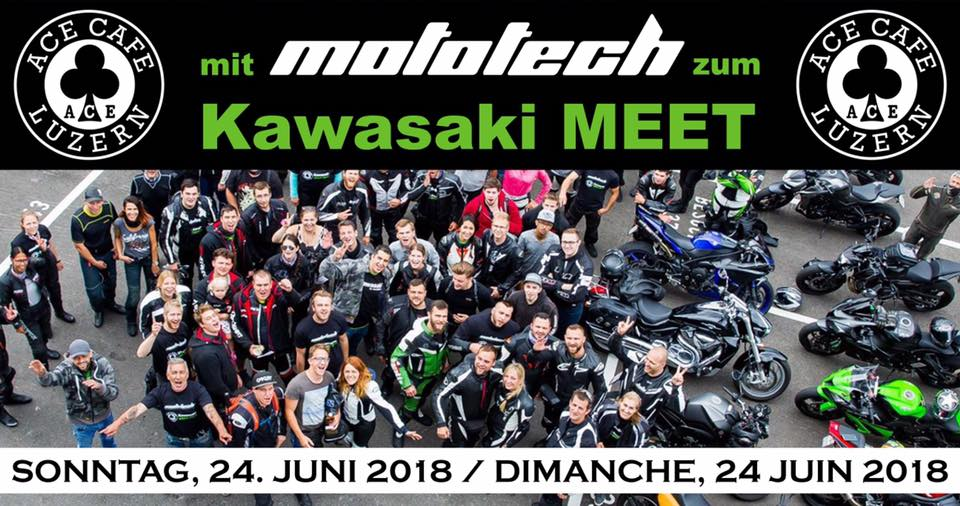 KAWASAKI MEET - ACE CAFE